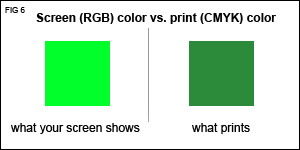 RGB vs CMYK colors