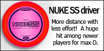 NUKE SS driver: more distance with less effort!  A huge hit among developing players for max distance.