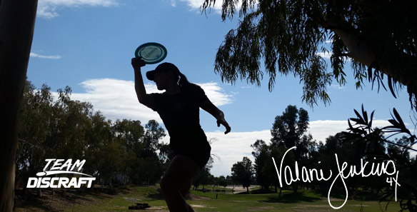 Disc Golf World Champion Valarie Jenkins / Team Discraft