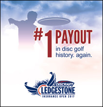 2017 Ledgestone Insurance Open presented by Discraft