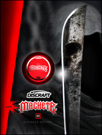 Discraft Z Machete first run 2.2 distance driver