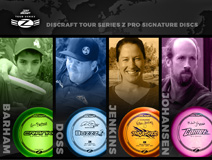 Team Discraft Tour Series Z Pro Signature Discs