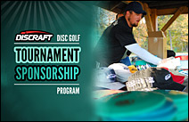 Discraft disc golf tournament sponsorship program