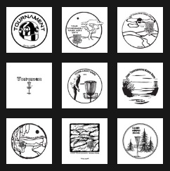 free custom design templates disc golf printing from discraft